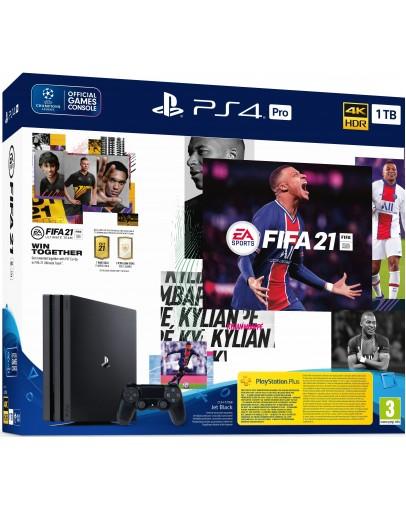 Igralna konzola PlayStation 4 PRO z igro FIFA 21