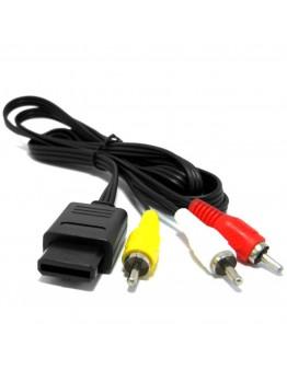SNES|GameCube|N64 Audio Video RGB kabel