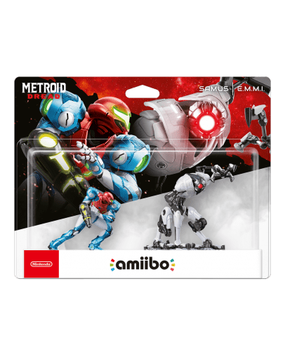 Amiibo Metroid Samus + E.M.M.I. Double Pack