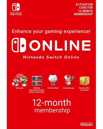 Nintendo Switch Online Membership 12 mesecev
