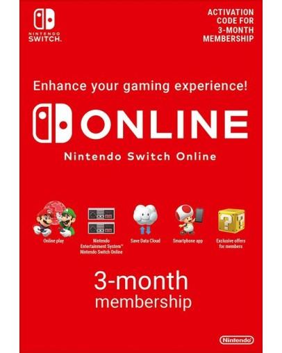 Nintendo Switch Online Membership 3 mesece