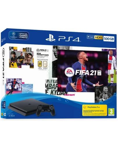 Igralna konzola PlayStation 4 Slim 1000GB z igro FIFA 21
