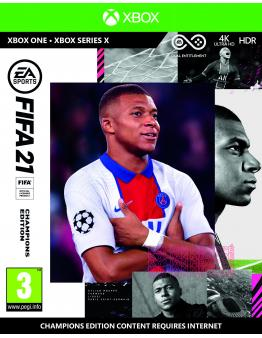 FIFA 21 Champions Edition + prednaročniški bonus (XBOX ONE)