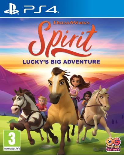 DreamWorks Spirit Luckys Big Adventure (PS4)