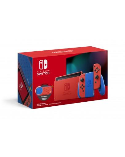 Nintendo Switch v2 z rdečimi (red) Joy-Con kontrolerji Mario Special Edition
