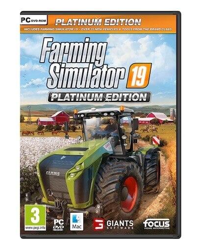 Farming Simulator 19 Platinum Edition (Windows PC)