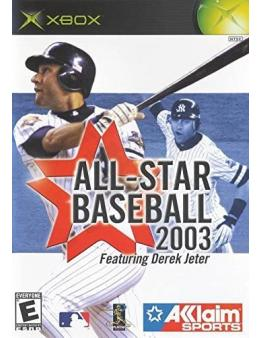 ALL STARS BASEBALL 2003 (XBOX) - Rabljeno