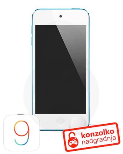 iPod Touch iOS 9.3.x Jailbreak + Navodila + 1 leto BREZPLAČNE posodobitve