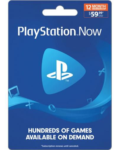 PlayStation Now 365 dni (US)