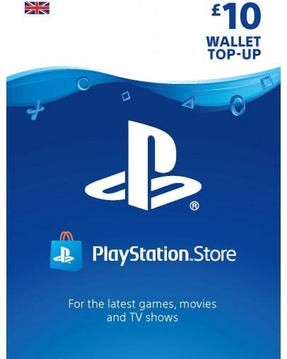 PlayStation predplačniška kartica 10 GBP (UK)