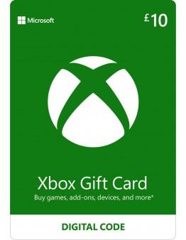 Microsoft Xbox predplačniška kartica 10 GBP (Xbox Live Gift Card)