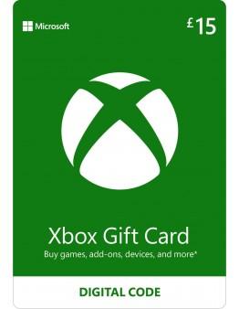 Microsoft Xbox predplačniška kartica 15 GBP (Xbox Live Gift Card)