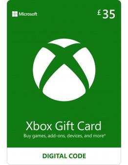 Microsoft Xbox predplačniška kartica 35 GBP (Xbox Live Gift Card)