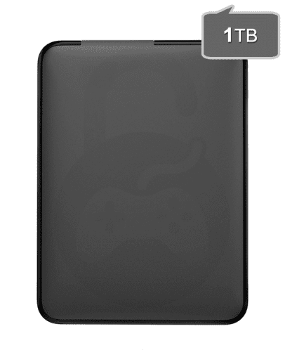 Zunanji USB disk 1000GB za Xbox 360, Playstation (PS3, PS2) Nintendo Wii(U), PC