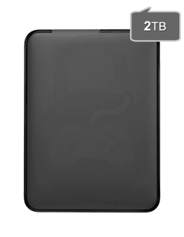 Zunanji USB disk 2000GB za Xbox 360, Playstation (PS3, PS2) Nintendo Wii(U), PC
