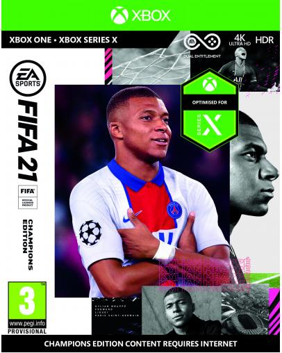 FIFA 21 Champions Edition (XBOX ONE DIGITAL) - koda za prenos