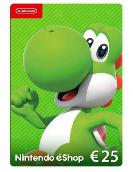 Nintendo eShop Card 25 EUR (Switch/WiiU/3DS/2DS)