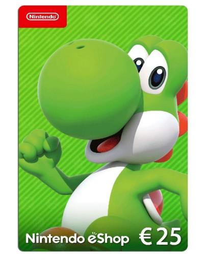 Nintendo eShop Card 25 EUR (Switch/WiiU/3DS/2DS)