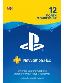 PlayStation Plus PSN+ 365 dni (UK)