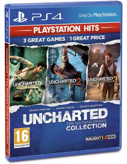 Uncharted The Nathan Drake Collection HITS (PS4)