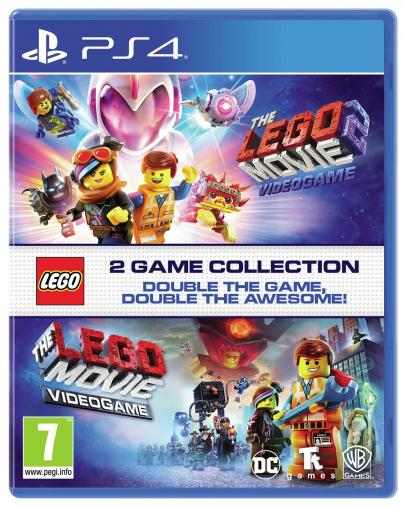LEGO The Movie Videogame Double Pack 1 + 2 (PS4)