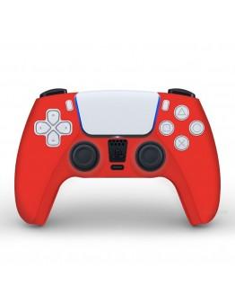 Playstation 5 silikonska prevleka za DualSense 5 kontroler, rdeča (PS5)