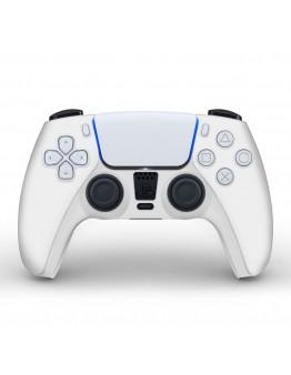 Playstation 5 silikonska prevleka za DualSense 5 kontroler, bela (PS5)