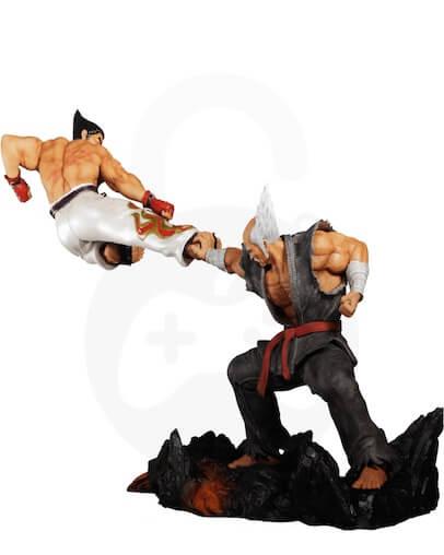 Tekken 7 Kazuya vs Heihachi Collector Figura - 30 cm