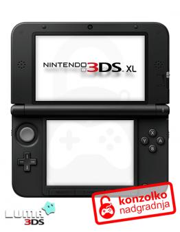 Nintendo 3DS XL Boot9strap + Luma3DS (3DS igre) + Homebrew Launcher + Navodila