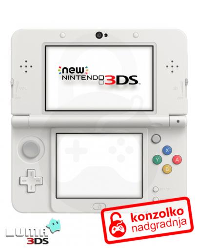 Nintendo NEW 3DS Boot9strap + Luma3DS (3DS igre) + Homebrew Launcher +  Navodila