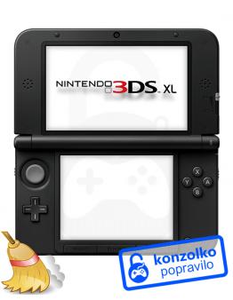 Nintendo 3DS XL Temeljito Čiščenje