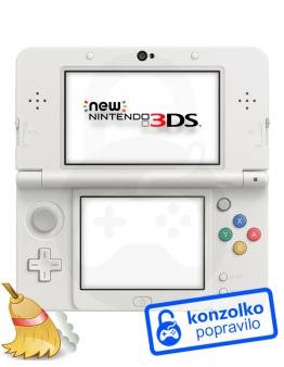 Nintendo NEW 3DS Temeljito Čiščenje
