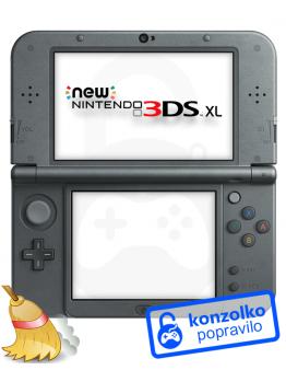 Nintendo NEW 3DS XL Temeljito Čiščenje