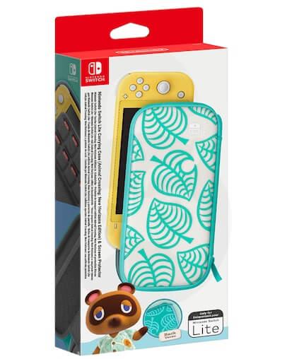 Nintendo Switch Lite Zaščitna Torbica + Zaščitna Folija Animal Crossing Edition (Switch Lite)