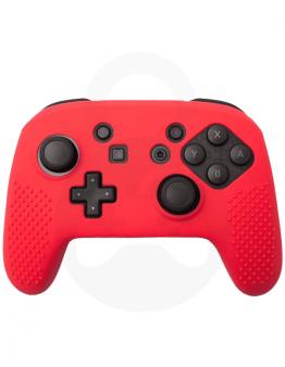 Nintendo Switch Silikonska Prevleka za Pro Controller, rdeča