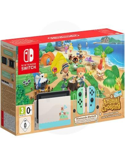 Nintendo Switch Animal Crossing Limited Edition + Animal Crossing New Horizons (SWITCH)