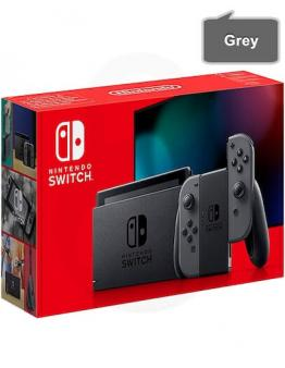 Nintendo Switch v2 s sivimi (grey) Joy-Con kontrolerji
