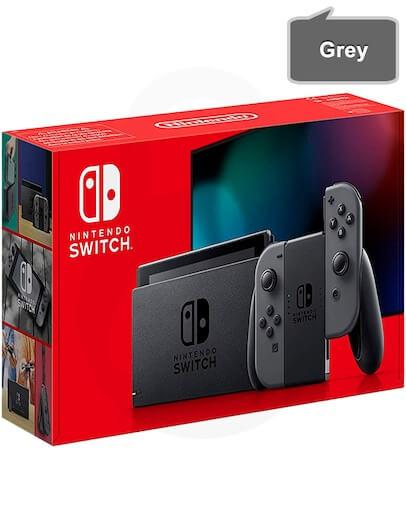 Nintendo Switch v2 s sivimi (grey) Joy-Con kontrolerji