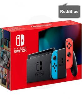 Nintendo Switch v2 z rdečim in modrim (red/blue) Joy-Con kontrolerji