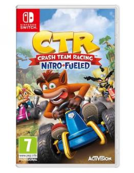 CTR - Crash Team Racing Nitro Fueled (SWITCH)