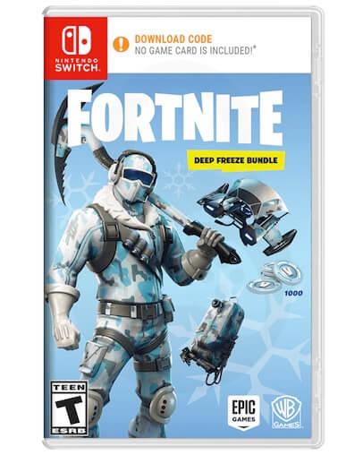 Fortnite Deep Freeze + 1000 V-bucks (SWITCH) - DLC