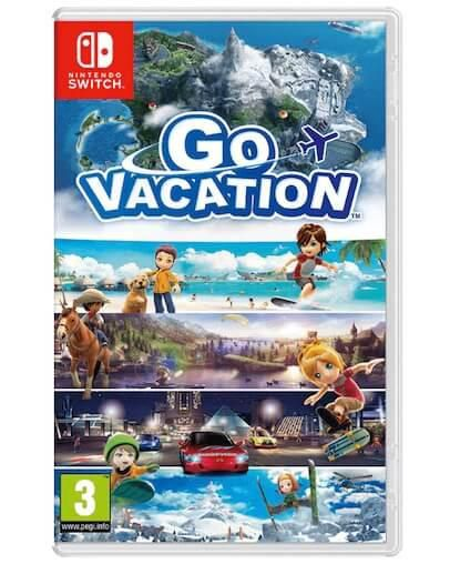 Go Vacation (SWITCH) - Rabljeno