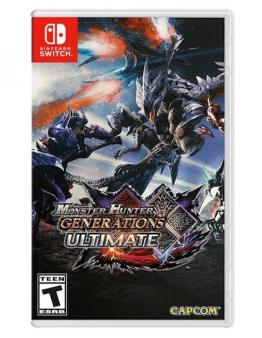 Monster Hunter Generations Ultimate (SWITCH) - Rabljeno