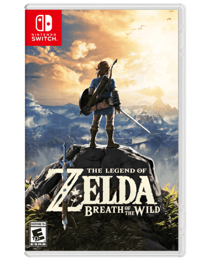 The Legend of Zelda Breath of the Wild (SWITCH)