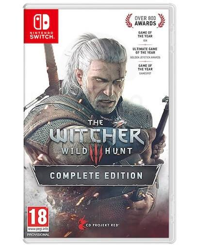 The Witcher 3 Wild Hunt Complete Edition (SWITCH)
