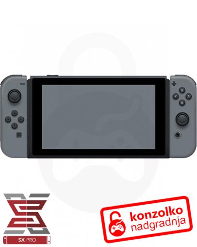 Nintendo Switch SX Pro + Navodila + 1 leto BREZPLAČNE posodobitve