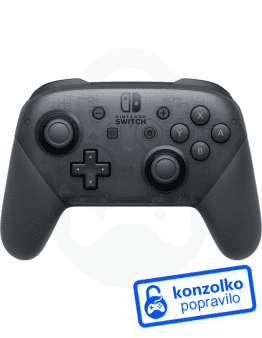 Nintendo Switch Pro Controller Servis