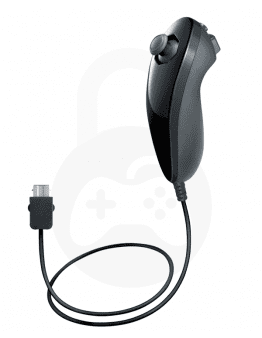Nintendo Wii / Wii U Nunchuk črn (kompatibilni)