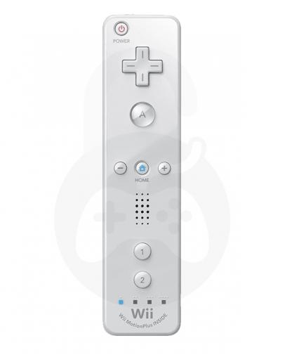 Nintendo Wii / Wii U Remote Plus, bel (kompatibilni)