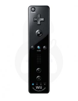 Nintendo Wii / Wii U Remote Plus, črn - PVC embalaža (kompatibilni)